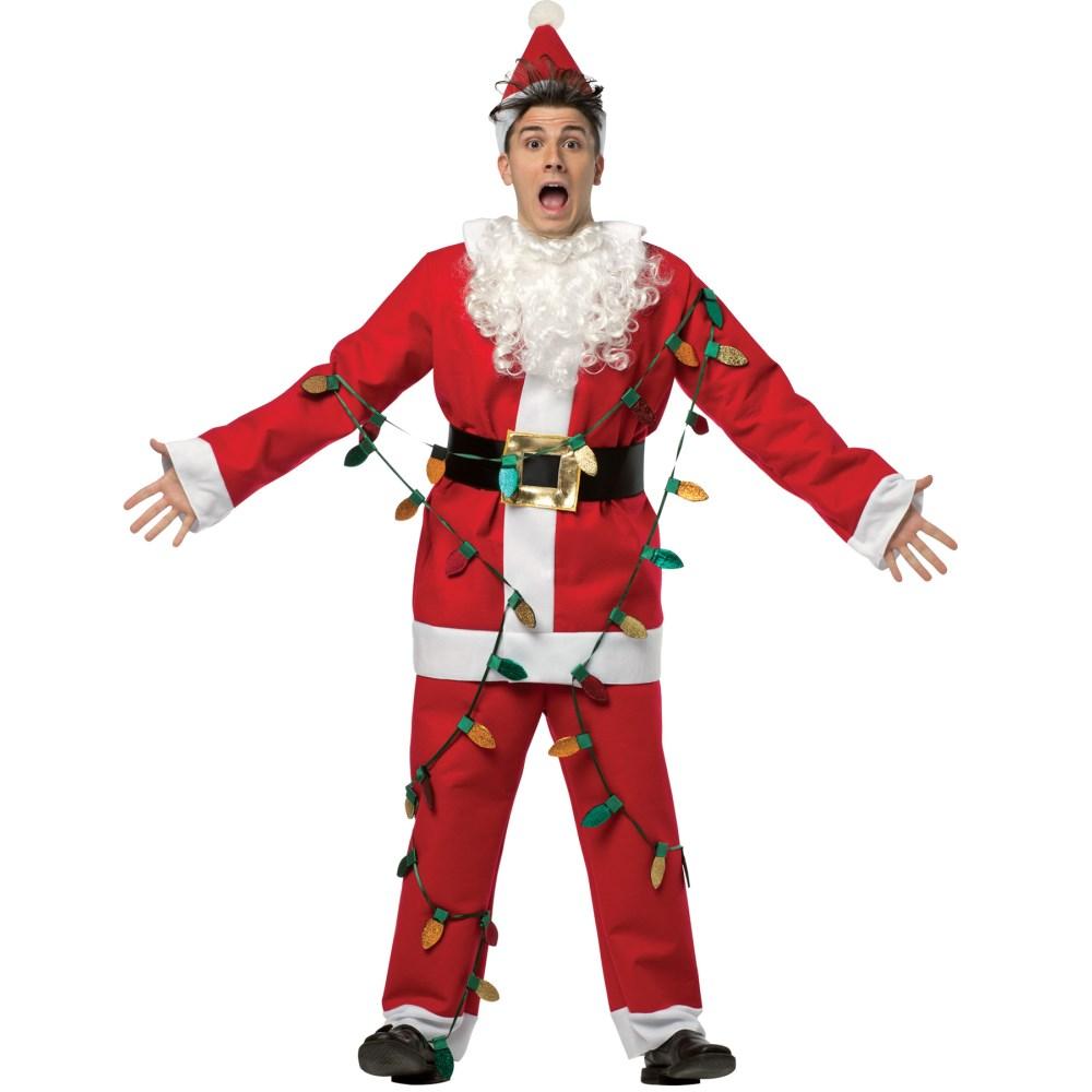 サンタクロース 衣装、コスチューム 大人男性用 NATIONAL LAMPOON SANTA SUIT
