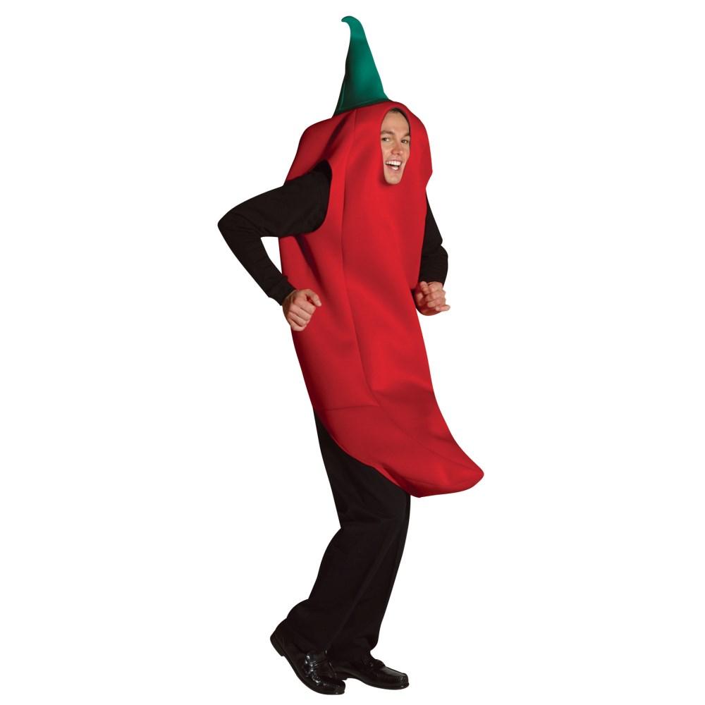 チリペッパー 衣装、コスチューム 大人男性用 CHILI PEPPER COSTUME ADULT コスプレ