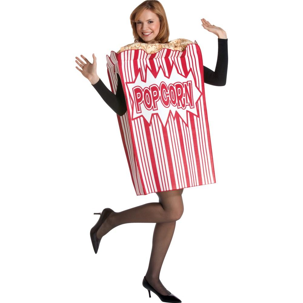 ポップコーン 衣装、コスチューム 大人女子用 MOVIE NIGHT POPCORN ADULT