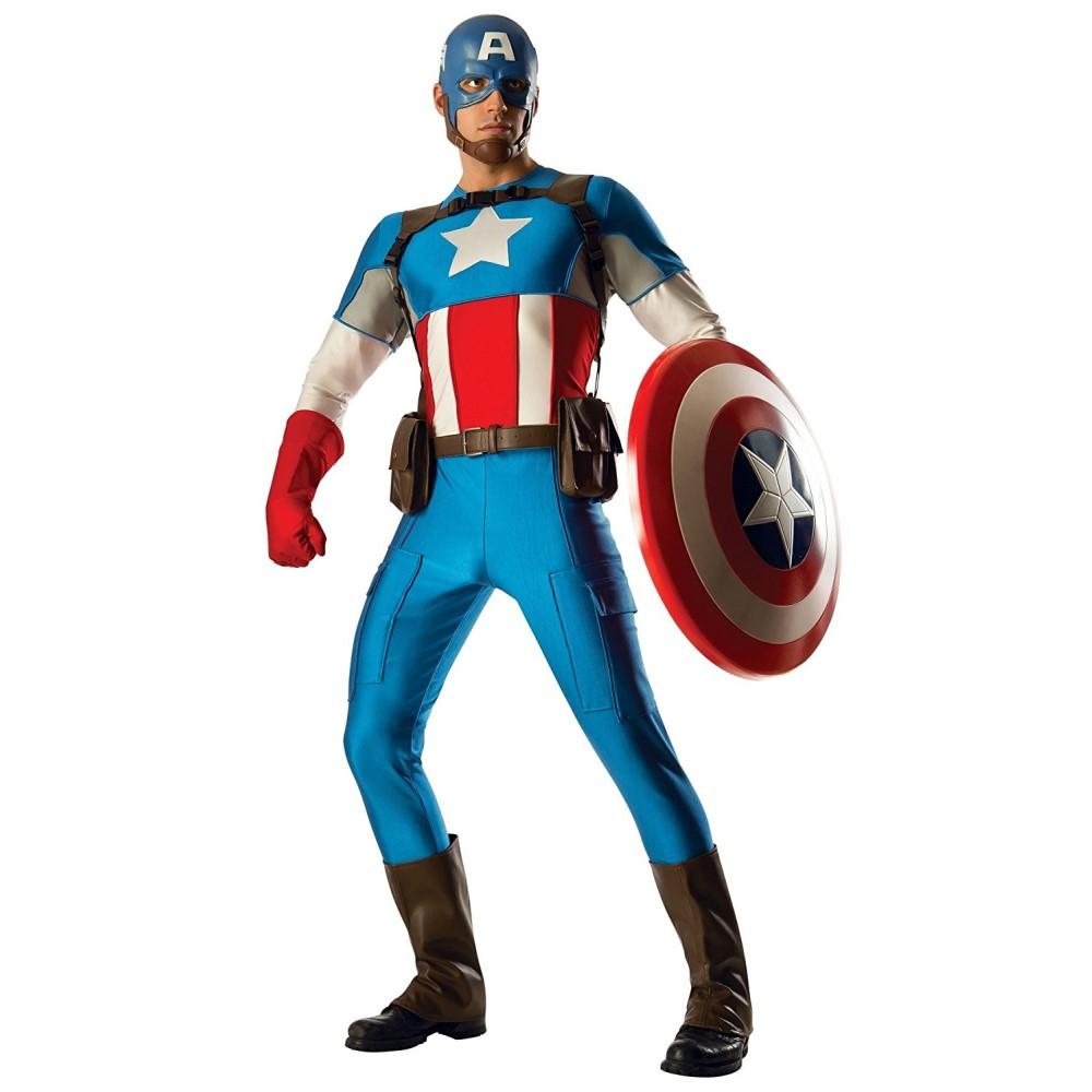 キャプテンアメリカ アベンジャーズ 衣装、コスチューム 大人男性用 GR. HER. CAPTN AMERICA