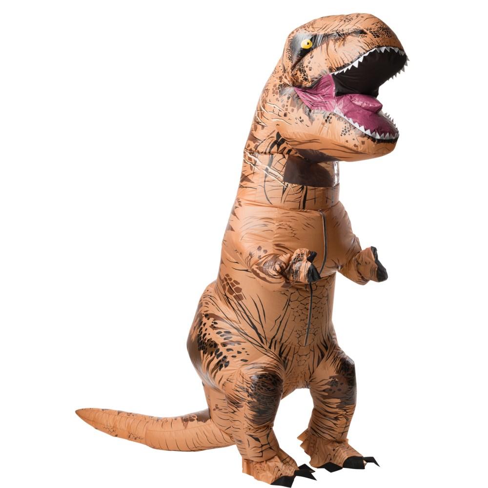 T-REX ティラノサウルス サウンド付き 恐竜 着ぐるみ 空気で膨らむ 衣装、コスチューム 大人男性用