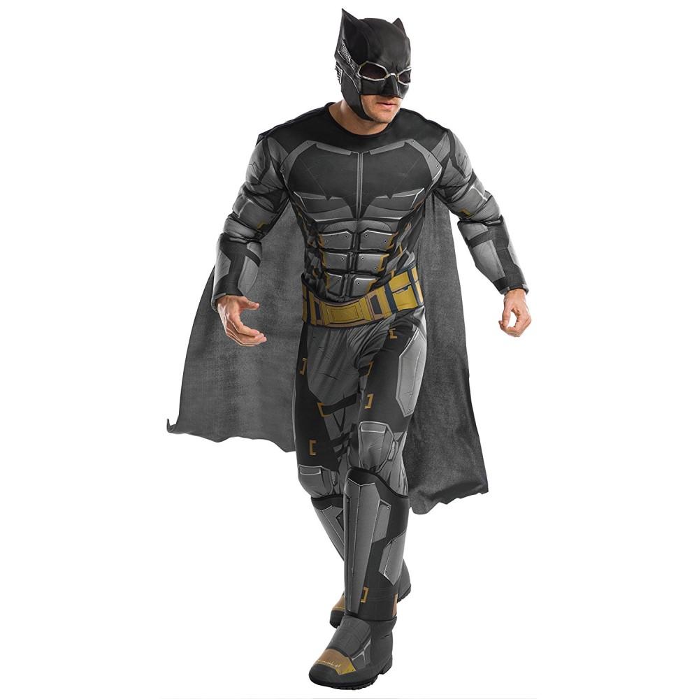 バットマン ジャスティス・リーグ 衣装、コスチューム 大人男性用 DLX TACTICAL BATMAN