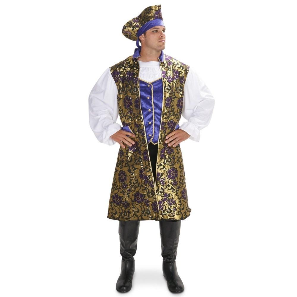 海賊 パイレーツ 衣装、コスチューム 大人男性用 Royal Brocade Pirate