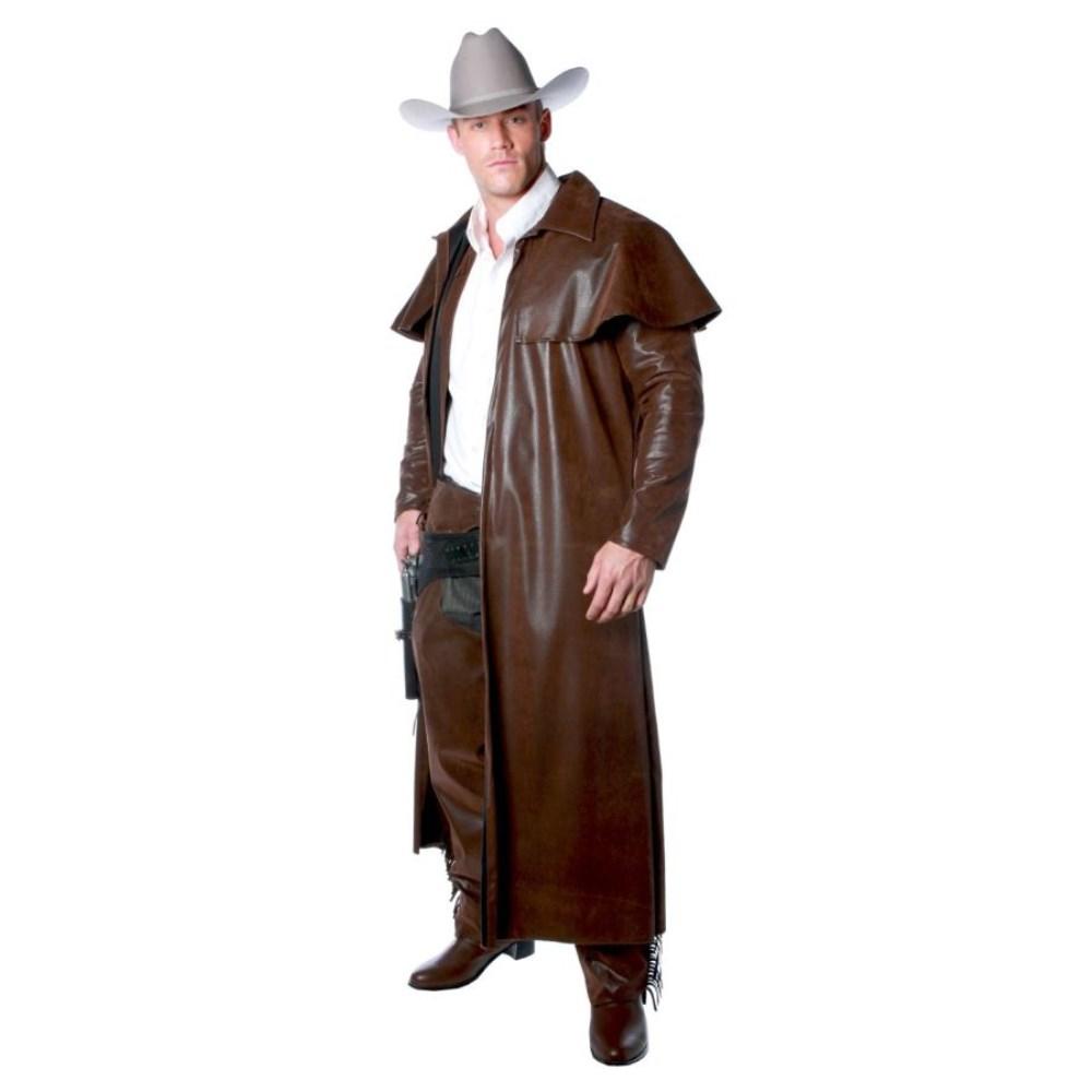 ウエスタン 衣装、コスチューム 大人男性用 DUSTER COAT ADULT