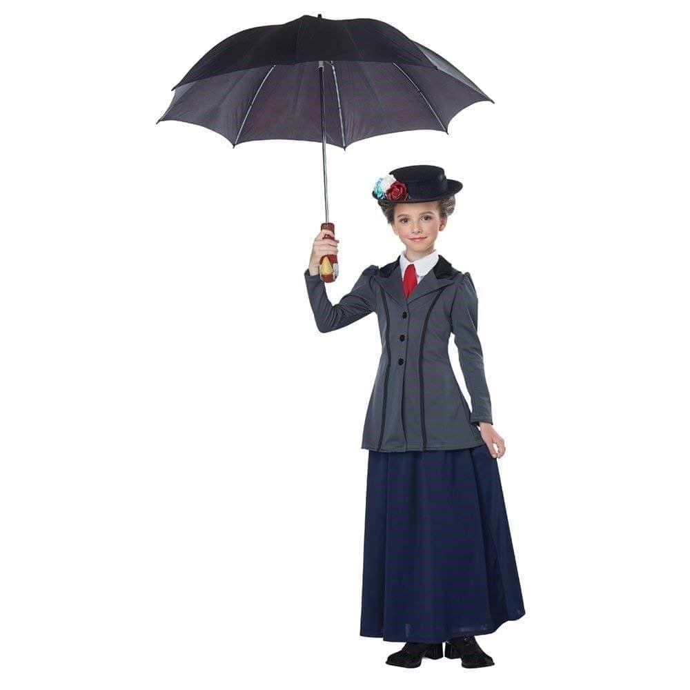 メリーポピンズ風 衣装、コスチューム 子供女性用 コスプレ