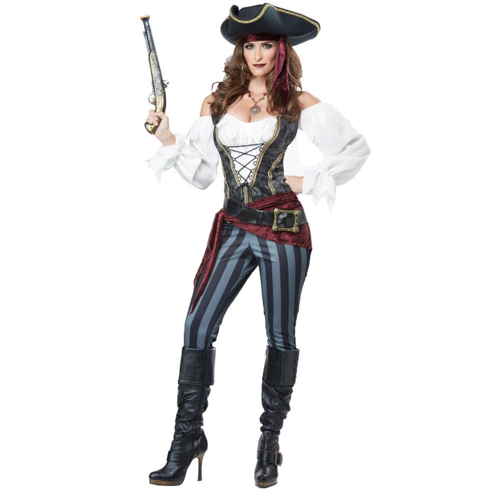 海賊 衣装、コスチューム 大人女性用 パイレーツ ハロウィン仮装