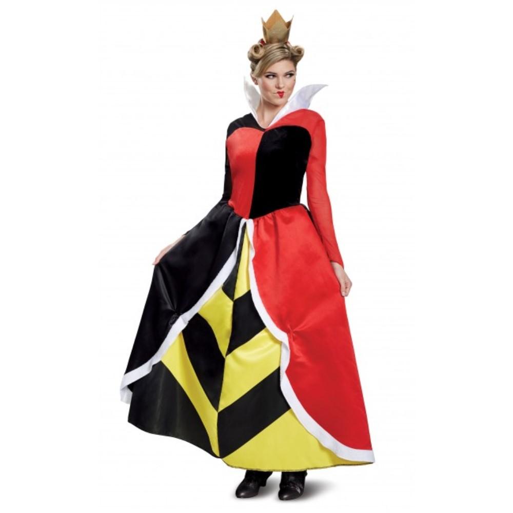 ハートの女王 ふしぎの国のアリス 衣装、コスチューム 大人女性用 赤の女王 ディズニー Deluxe