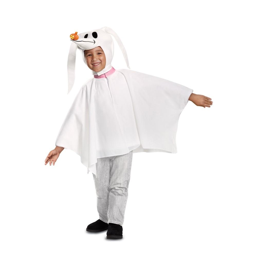 ゼロ 衣装、コスチューム 子供男性用 ナイトメアー・ビフォア・クリスマス ディズニー Classic コスプレ