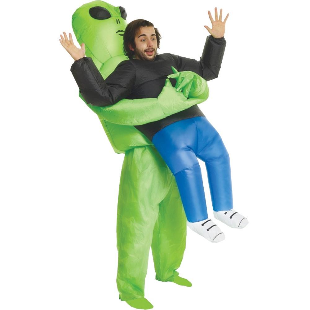 宇宙人に連れ去られた人 衣装、コスチューム パーティーグッズ 大人用 インフレータブル