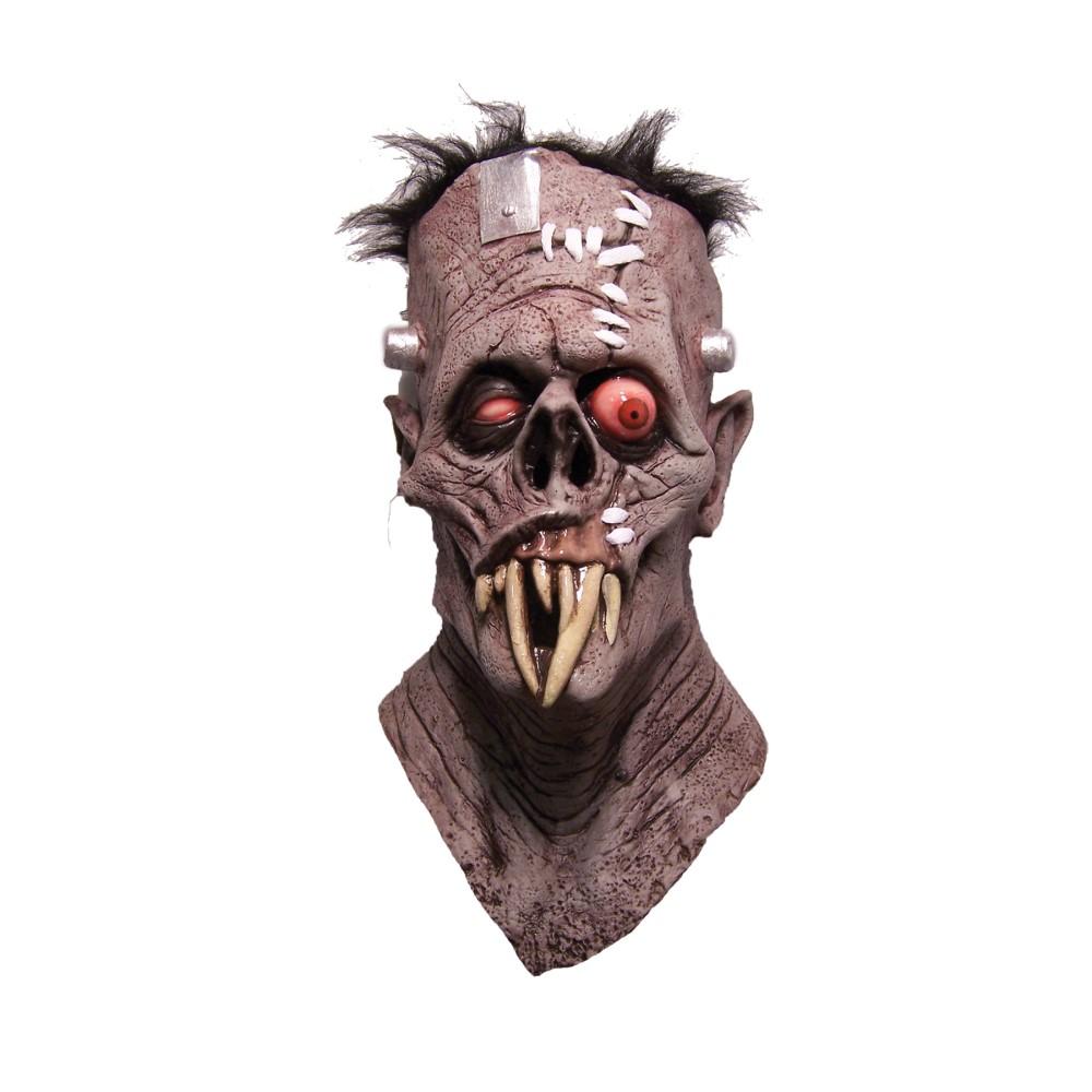 ゾンビ モンスター フルマスク 大人用 髪つき ハロウィン仮装