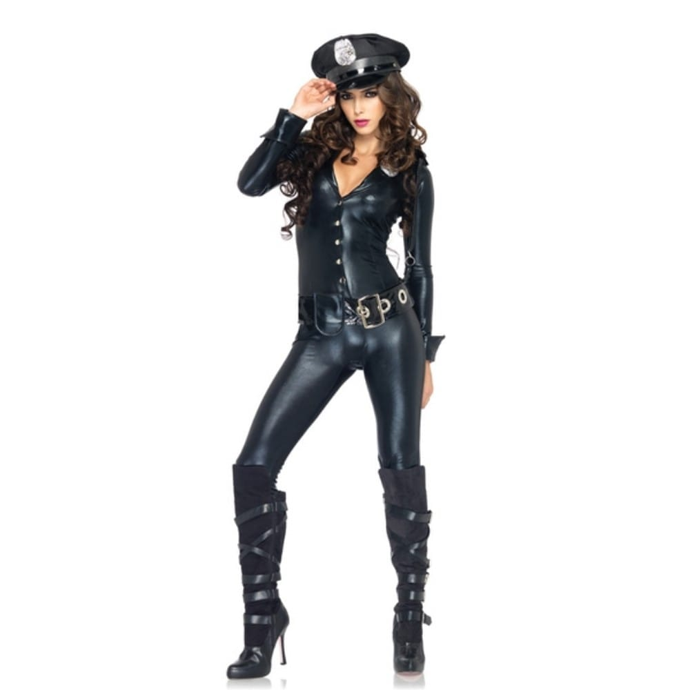 ポリス 警察 衣装、コスチューム 大人女性用 セクシー コスプレ