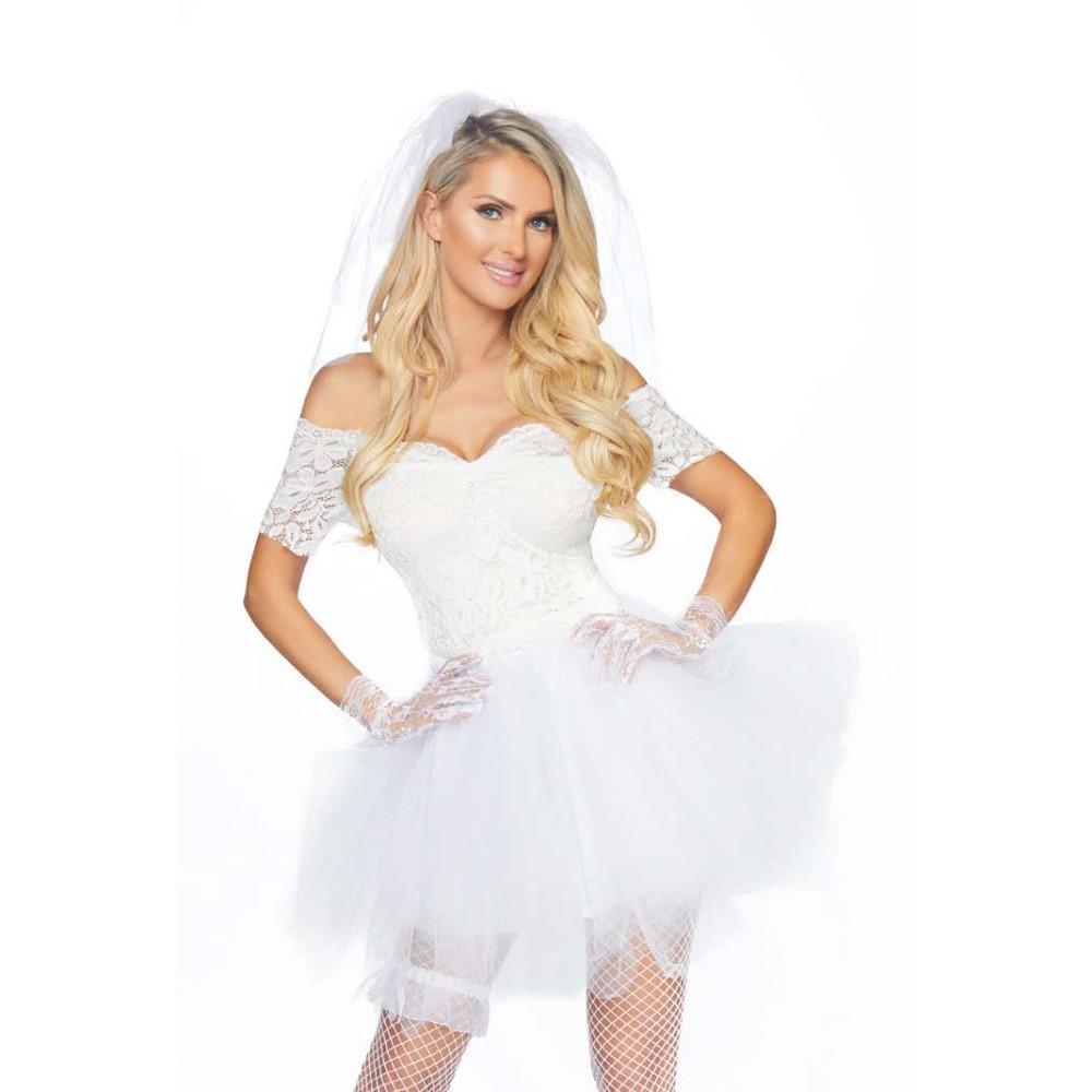 ウエディングドレス風 衣装、コスチューム 大人女性用 コスプレ ドレス