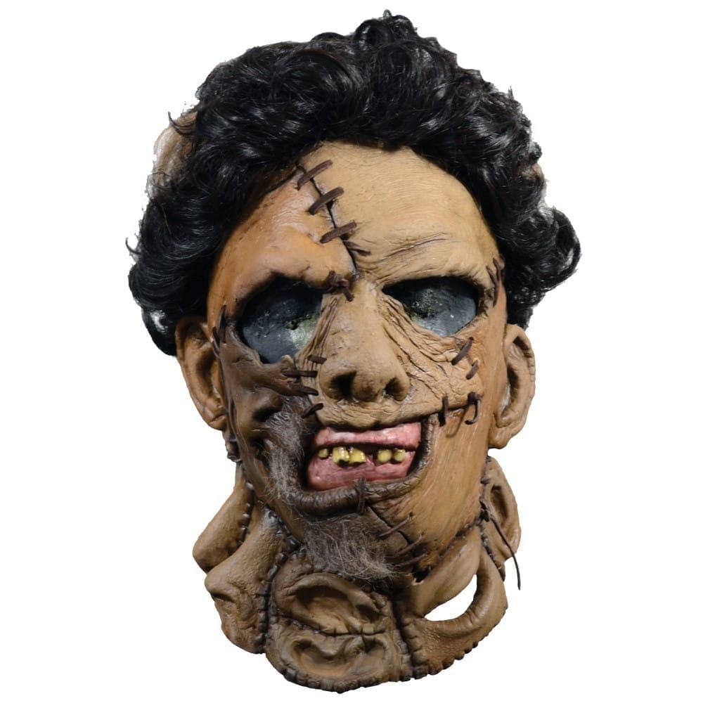レザーフェイス フルマスク 大人用 テキサスチェーンソー 悪魔のいけにえ ホラー映画 コスプレ
