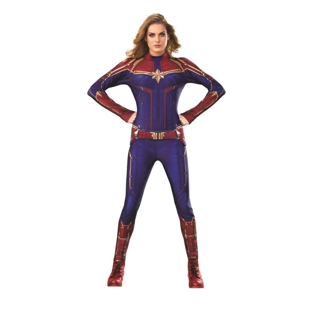 キャプテン・マーベル 衣装、コスチューム 大人女性用 DELUXE キャロル アベンジャーズ
