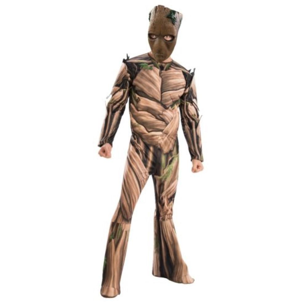 グルート 衣装、コスチューム 大人男性用 アベンジャーズ ガーディアンズ・オブ・ギャラクシー Deluxe コスプレ