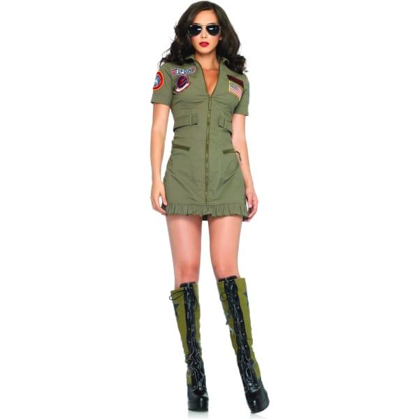 トップガン 衣装、コスチューム 大人女性用 映画 空軍 ミリタリー