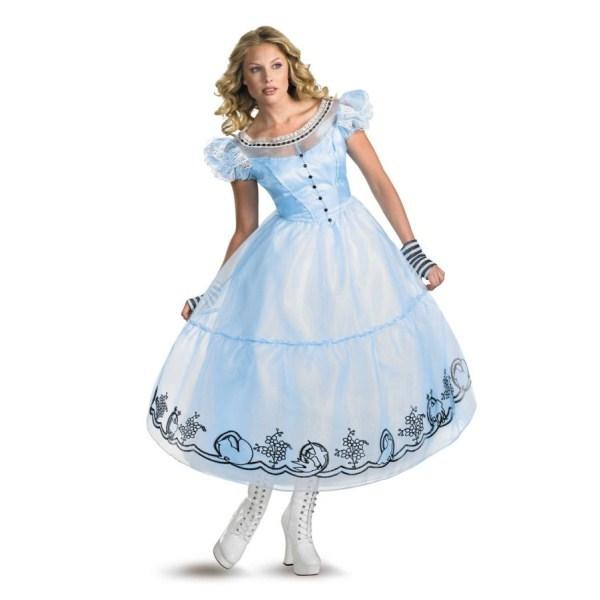 アリス MOVIE デラックス 衣装、コスチューム 大人女性用 不思議の国のアリス