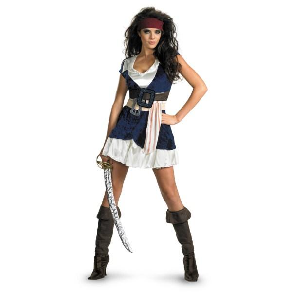 ジャック・スパロウ 衣装、コスチューム 大人女性用 パイレーツ・オブ・カリビアン 海賊 Sassy
