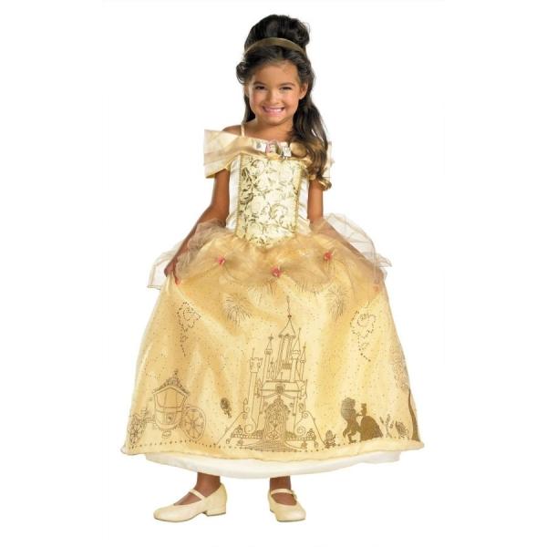 ベル ドレス、衣装、コスチューム Prestige 子供女性用 ディズニー 美女と野獣