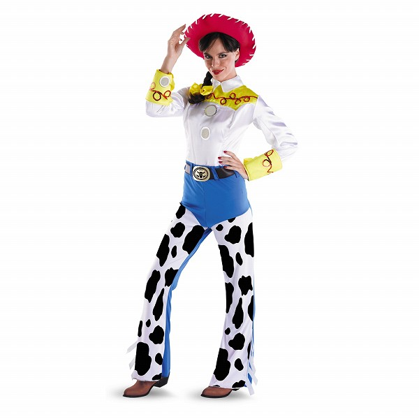 トイストーリー ジェシー Deluxe ディズニー衣装、コスチューム コスプレ 大人女性用