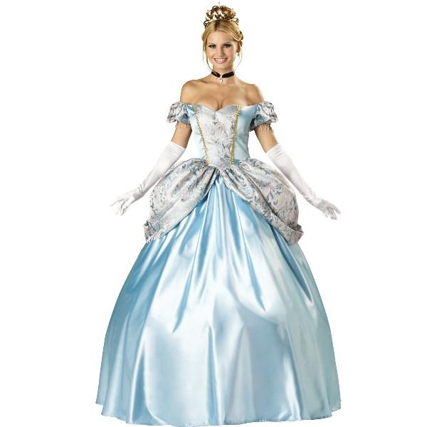 Enchanting Princess シンデレラ風 ドレス 衣装 コスプレ 大人女性用 HQ