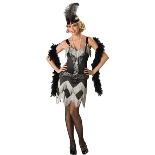 Charleston Cutie チャールストーン・ダンサー 衣装、コスチューム  大人女性用 HQ