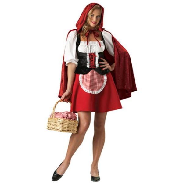 Red Riding Hood 赤ずきんちゃん セクシー 衣装、コスチューム コスプレ 大人女性用