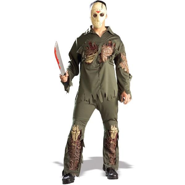 13日の金曜日 衣装、コスチューム コスプレ  デラックス 大人男性用 ハロウィン