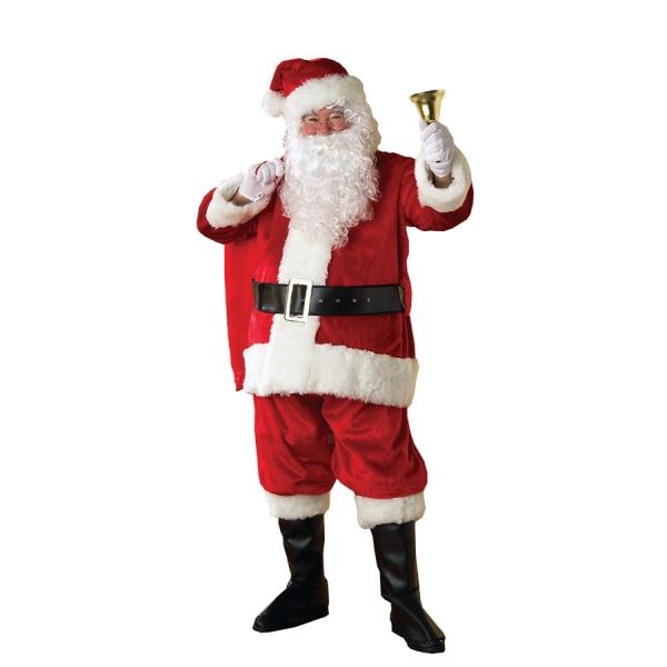 サンタクロース 衣装、コスチューム DLX 大人男性用 PREMIER SUIT
