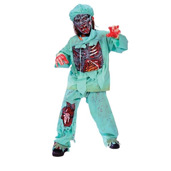 ゾンビ ドクター 衣装、コスチューム ホラー 子供男性用 コスプレ