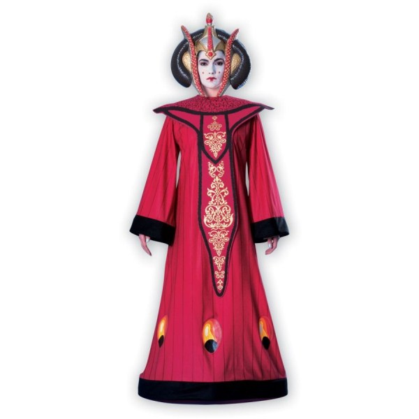 アミダラ レッドドレス コスチューム、衣装 コスプレ 大人女性用