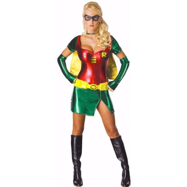 ロビン セクシー 衣装、コスチューム コスプレ バットマン 大人女性用
