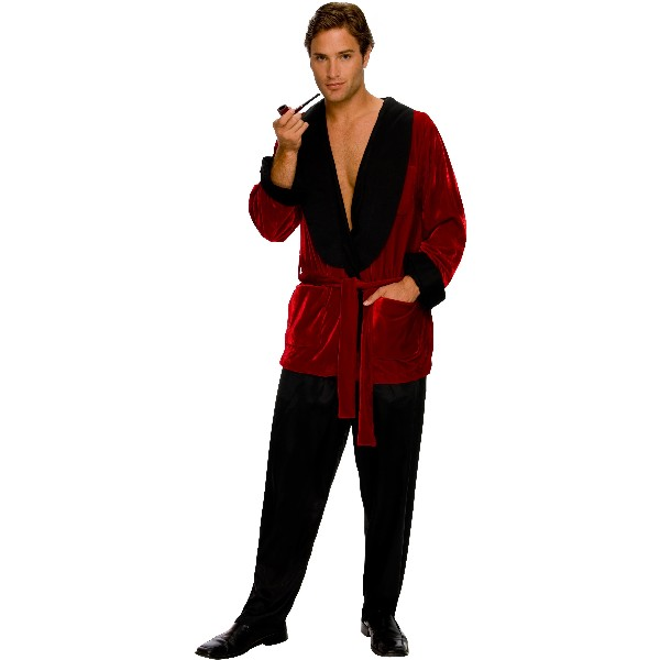PLAYBOY Hugh Hefner ローブ 衣装、コスチューム コスプレ 大人男性用