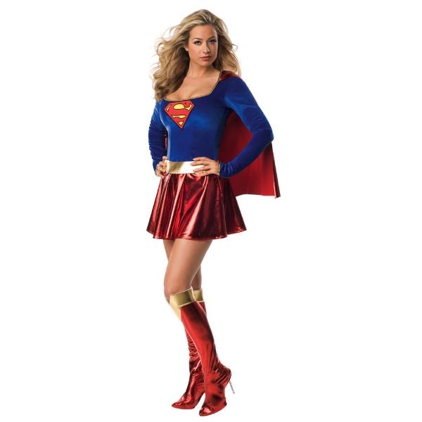 スーパーマン スーパーガール Supergirl 衣装、コスチューム コスプレ 大人女性用