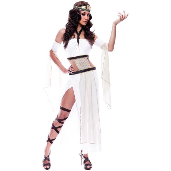 女神 大人女性用 衣装、コスチューム セクシー ギリシャ 女王