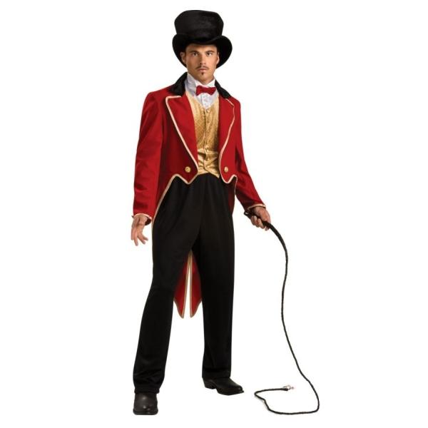 サーカス 衣装、コスチューム 大人男性用 コスプレ RING MASTER グレイテスト・ショーマン風