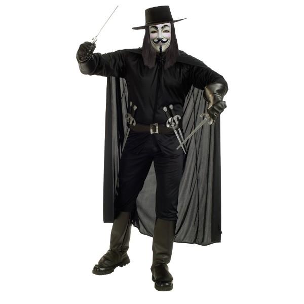 Vフォー・ヴェンデッタ 衣装、コスチューム コスプレ 大人男性用 ハロウィン
