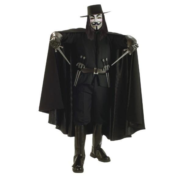 Vフォー・ヴェンデッタ 衣装、コスチューム 大人男性用 Grand Heritage