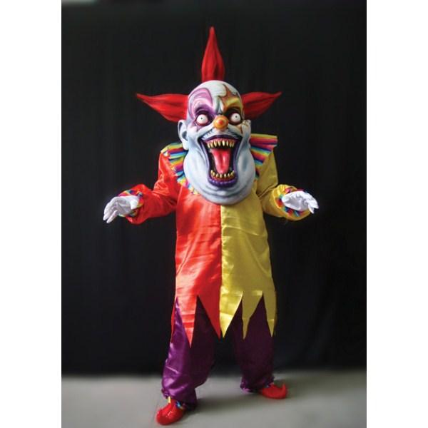 邪悪なピエロ 赤と黄色 大人男性用 衣装、コスチューム 大人男性用 ホラー ホラー, おもちゃ人形の桃秀:26402315 --- officewill.xsrv.jp