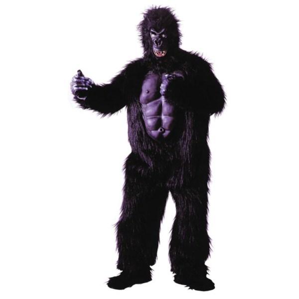 ゴリラ 着ぐるみ 衣装、コスチューム 大人男性用 動物