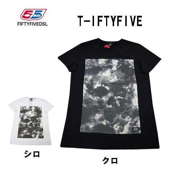 フィフティーファイブディーエスエル 55DSL メンズ 半袖Tシャツ IFTYFIVE Tシャツ 全国送料無料