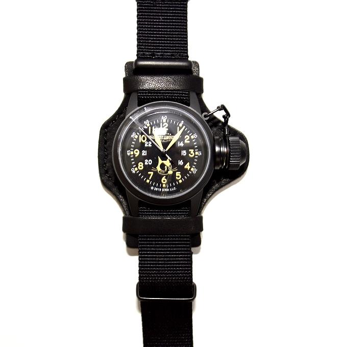 """トイズマッコイ TOYS McCOY TMA1901 ウォッチ ブラック色 フィリックスザキャット U.S.NAVY WATCH 100TH アニバーサリーモデル 腕時計"""" 送料無料 新作"""