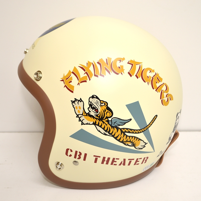 BABY BUCO ベビーブコ BCH1032 HELMET A.A.F. FLYING TIGERS ブコヘルメット フライングタイガース :アメリカンバース