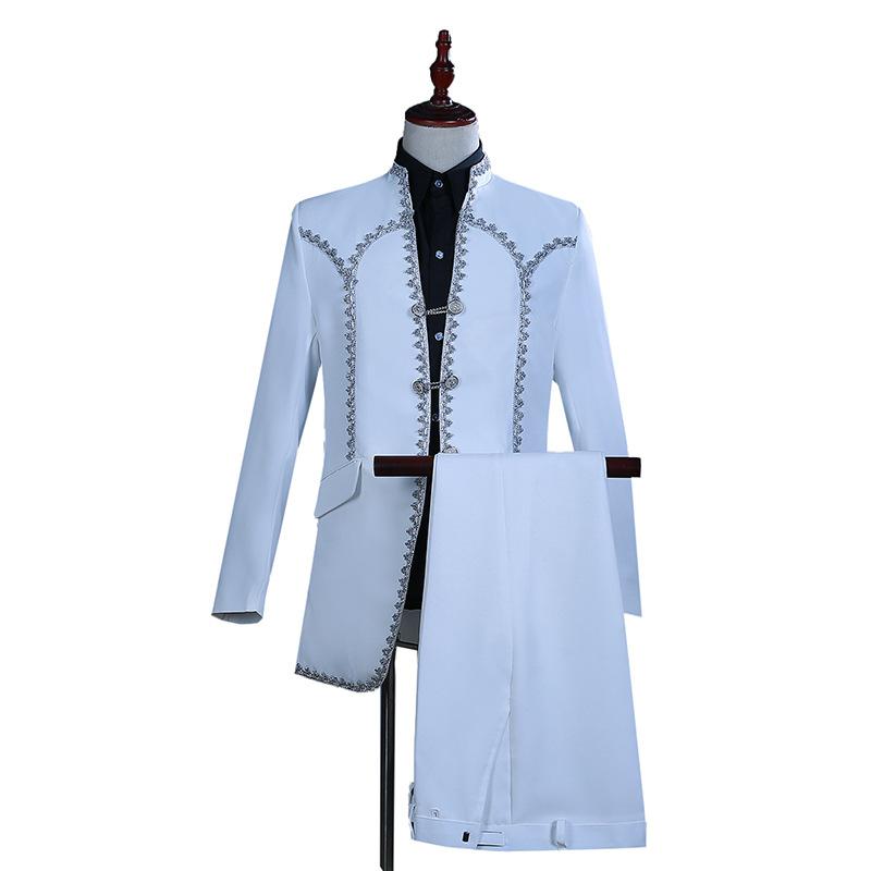 75bb89956d2b6 メンズ、タキシード メンズ タキシード ホワイト メンズ スーツ スーツセット 上下セット タキシード メンズ タキシード パンツ