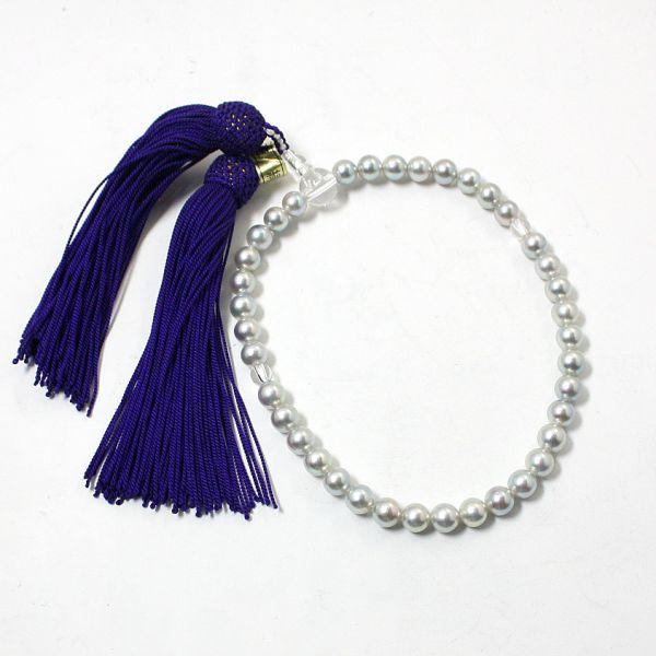 【中古】【未使用品】 真珠 数珠
