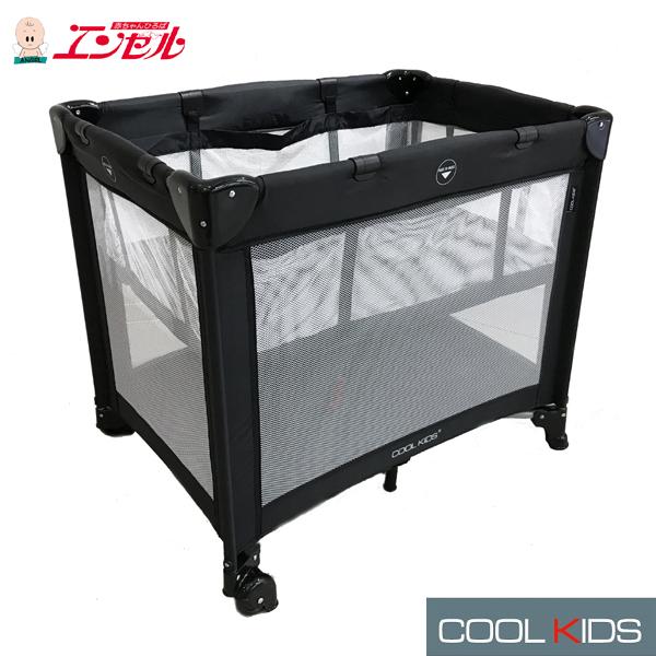 エンドー COOL KIDS CKサークル mini ブラック【エンドー正規販売店 クールキッズサークル COOL KIDS CKサークル cool kidsサークル プレイヤード 簡易ベッド アウトドア】