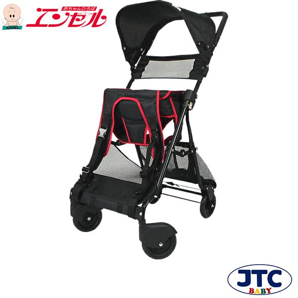 ★おんぶっこバギー(レッド)【JTC ベビーカー しょいっこ】