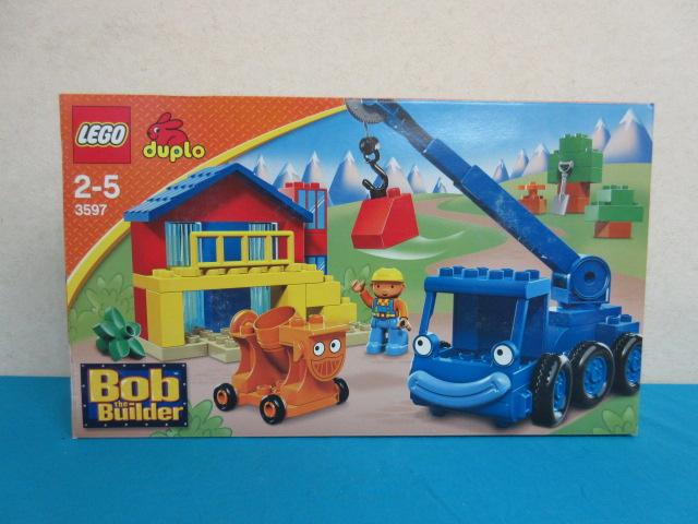 【未開封品】 レゴ デュプロ 3597 ボブとはたらくブーブーズ         LEGO duplo はたらきもののロフティとデイジー         Bob the Builder 2~5歳 レゴブロック ブロック