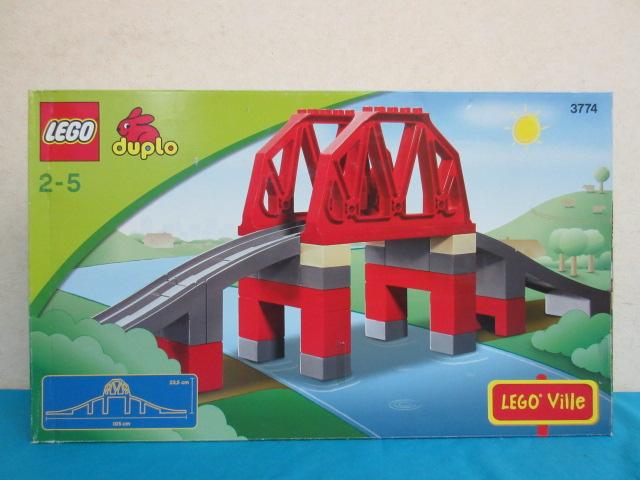 【未使用品】 レゴ デュプロ 橋 3774         LEGO duplo 2~5歳 ブロック         レゴブロック おもちゃ 知育 玩具
