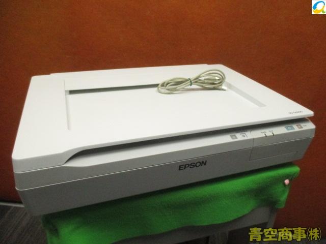 【中古】カウンター激少!!EPSON A3 フラットベット カラースキャナ DS-50000 USB接続 高耐久! 総スキャン数:33枚[b7156]
